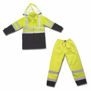 7454G Class 3 Professional Water Resistant Rain Suit
