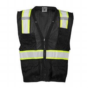 B100V Enhanced Visibility Multi-Pocket Mesh Vest