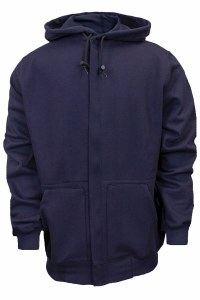 C21WT05 NSA Flame Resistant Hooded Zippered Sweatshirt