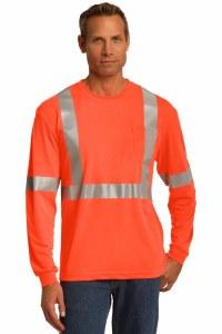 CS401LS Long Sleeve Safety T-Shirt