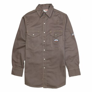FR1004 FR Heavyweight Work Shirt