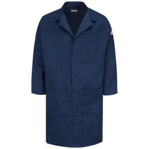 KLL6 Concealed Snap-Front Lab Coat