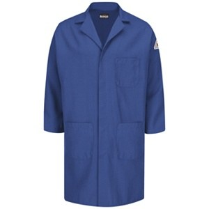 KNL6 Concealed Snap Front Lab Coat