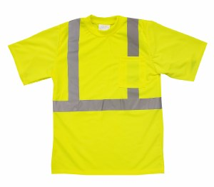 RMT002-9052S Hi Vis Class 2 Safety T-shirt