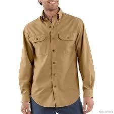 S202 Long Sleeve Chambray Shirt