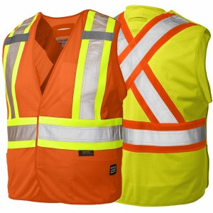 S9i0 5 Point Tearaway Safety Vest