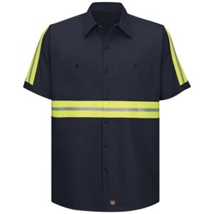 SC40EN Enhanced Visibility Cotton Work Shirt
