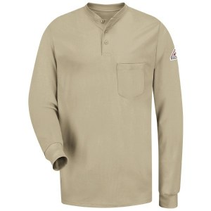 SEL2 Flame Resistant Long Sleeve Tagless Henley