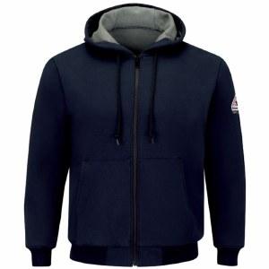 SEZ4 FR Full Zip-Front Hooded Waffle-Lined Sweatshirt