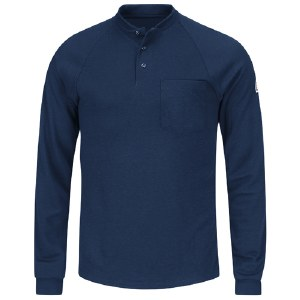 SML2 Flame Resistant Long Sleeve Henley Shirt