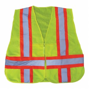 Tray9-2X6 High Visibility Class 2 Adjustable Vest
