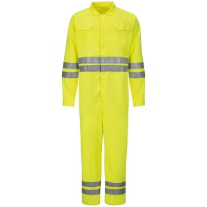 CMD8 High Visibilty Deluxe Coveralls