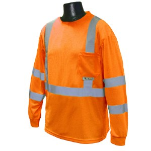 ST21 Hi-Vis Class 3 Long Sleeve T-Shirt With Max-Dri