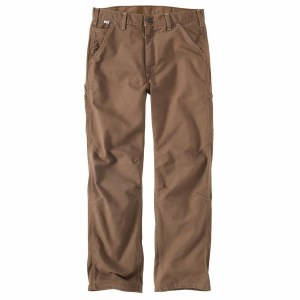100791 Flame Resistant Washed Duck Dungaree