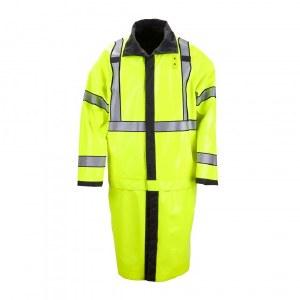 48125 High Visibility Reversible Rain Coat