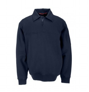 72321 Job Shirt With Canvas Details