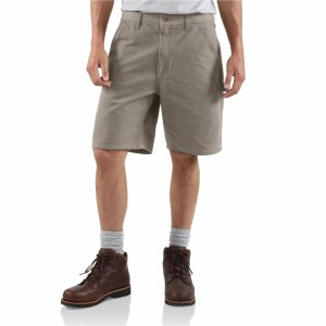 B25 Washed Duck Work Short