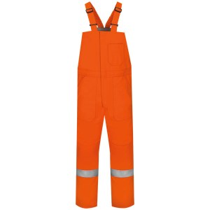 BLCSOR Flame Resistant Insulated Bib Overall with Reflective Trim