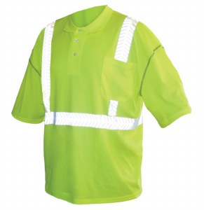 C2POLO High Visibility Class 2 Safety Polo
