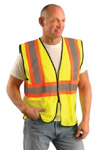 ECO-GC2T High Visibility Value Mesh Vest