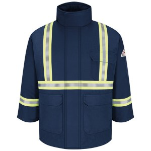 JLPC Flame Resistant Deluxe Parka with CSA Reflective Trim