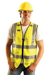 LUX-SSFULLZ High Visibility Premium Solid Full Surveyor Vest