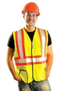 LUX-SSG2T High Visibility Premium Solid Vest