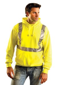 LUX-SWTLH High Visibility Classic Lightweight Hoodie
