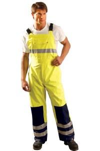 LUX-TENBIB High Visibility Premium Breathable Bib Pants