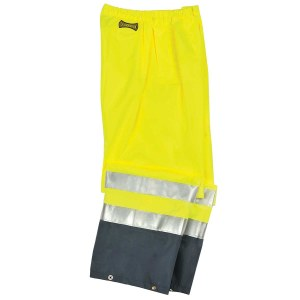 LUX-TENR High Visibility Premium Breathable Rain Pants