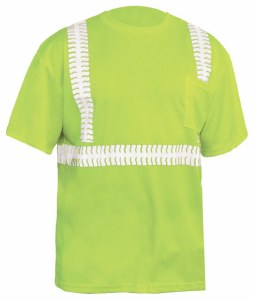 PC2SS High Visibility Class 2 Premium Safety T-Shirt