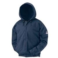 SEH4 Flame Resistant Zip-Front Hooded Sweatshirt