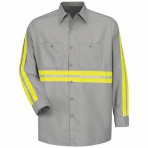 SP14EG Enhanced Visibility Industrial Work Shirt