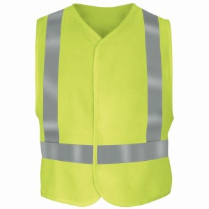 VMV4 Yellow/Green S/M Flame Resistant Hi-Vis Safety Vest