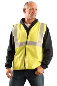 LUX-SSCGFR Classic Flame Resistant Single Stripe Solid Vest