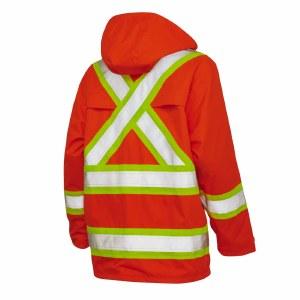 S372 High Visibility Rain Jacket
