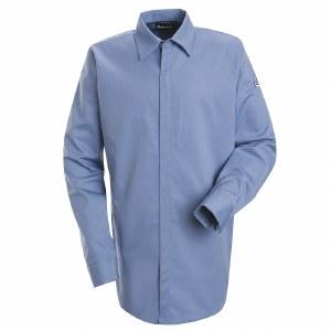 SLS2 Flame Resistant Concealed Gripper Pocketless Shirt