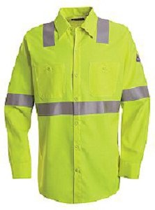 SMW4 Hi-Vis Long Sleeve Shirt