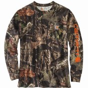 101776 Workwear Graphic Camo Sleeve Long-Sleeve T-Shirt