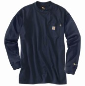 100235 Flame Resistant Force Cotton Long-Sleeve T-Shirt