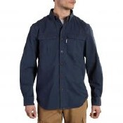 102418 Carhartt Force Ridgefield Solid Long Sleeve Shirt