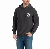 103453 Force Delmont Graphic Hooded Sweatshirt