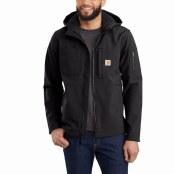 103829 Hooded Rough Cut Jacket