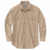 104368 Original Fit Midweight Long-Sleeve Button-Front Shirt
