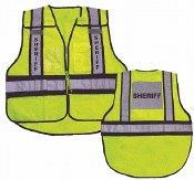 Vest24 Forester Hi-Vis Sheriff 5 Point Tear Away Vest