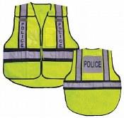 Vest26 Forester Hi-Vis Police 5 Point Tear Away Vest