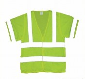 Vest6 Lime 3XL Hi-Vis ANSI Class 3 Safety Vest