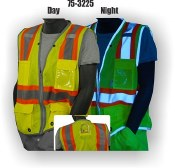 75-3225 Majestic Hi-Vis Level 2 Mesh Vest