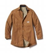 FR3407BN Rasco Brown FR Shirt Jacket