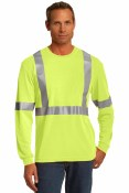 CS401LS Long Sleeve Safety T-Shirt